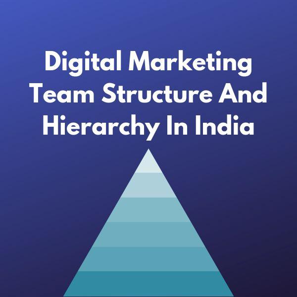 Digital marketing hierarchy