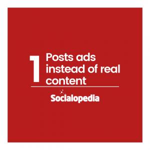 Mistakes brands make on social media