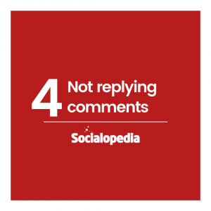 Social media brand problem 4 Not replying to comments