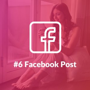 Facebook post is one of the preffered formats by influencer marketers