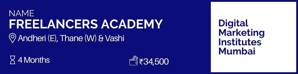 Freelancers Academy- Digital Marketing Institutes