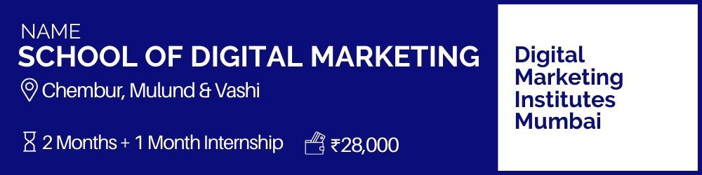 School Of Digital Marketing- Digital Marketing Institutes